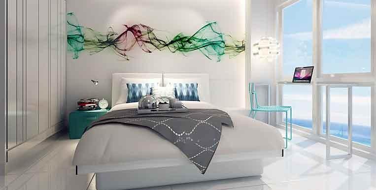 sky-jomtien-condominium-bedroom-furnished