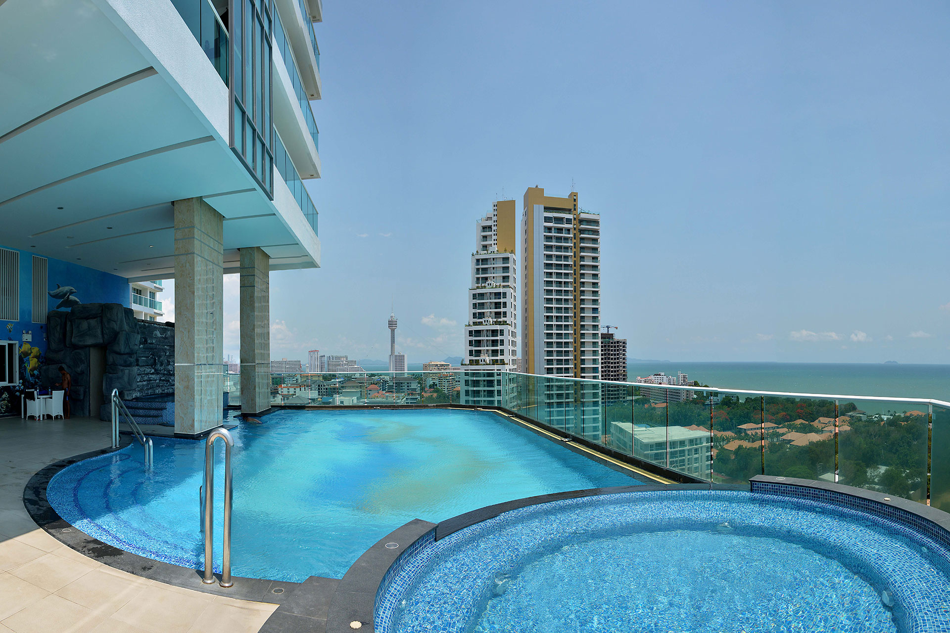 Apartment for rent in Cosy Beach View Studio 35 sq.m. Pattaya