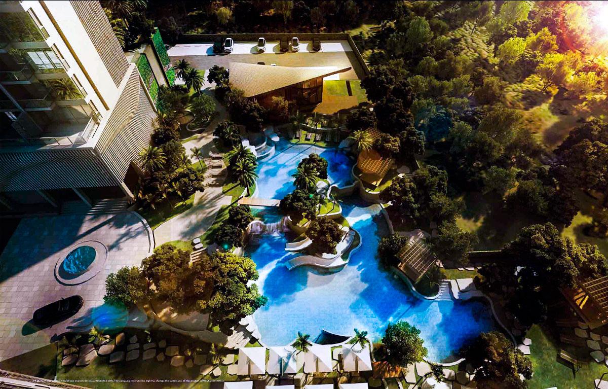 Hot Sale! The Riviera Wangomat 2 bedroom, 71 Sq.m. 35 floor